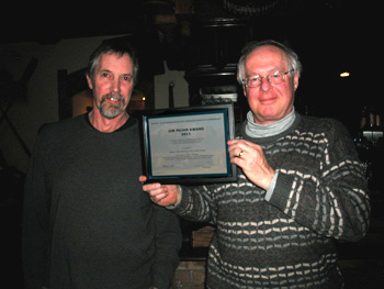 Jim Pojar Award 2011